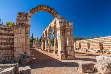 Ruinen von Anjar - Ummayad