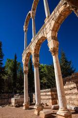 Ruinen von Anjar - Bögen