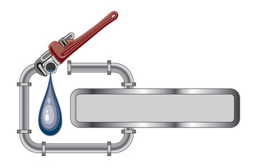 Plumbing Design With Banner