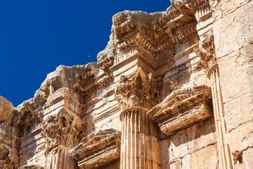 Tempelverzierungen - Baalbek