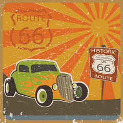 Route 66 Card