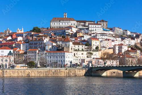 Coimbra, Portugal, Old City View