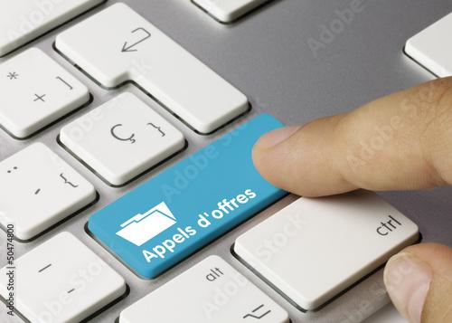 Appels d'offres clavier doigt - 50474800