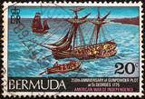 Bicentenary of Gunpowder Plot, St. George (Bermuda 1975) poster