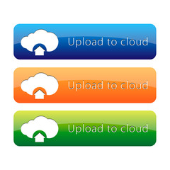 Upload to cloud button set