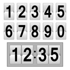 Uhr Anzeigetafel