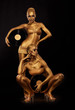 Bodyart. Golden Women - Vinyl Records. Creative Concept
