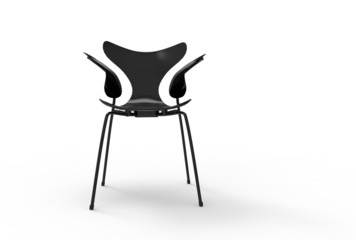 Black Modern Single Chair
