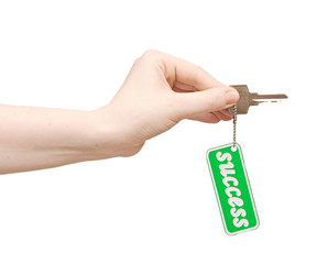 Handing over keys to success