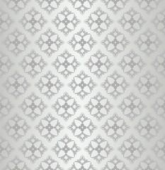 Seamless floral wallpaper diamond pattern