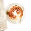 Kaffee und Zeitung