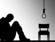 Ilustração - O suicídio