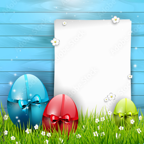 Sweet Easter background