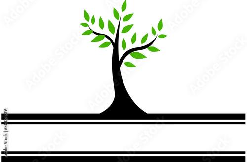 Green Tree Banner