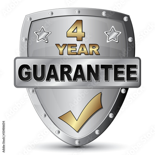 4 YEAR GUARANTEE ICON