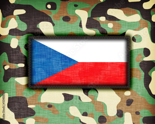 Amy camouflage uniform, The Czech Republic