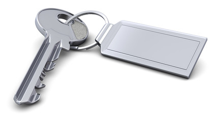 Schlüssel mit Anhänger