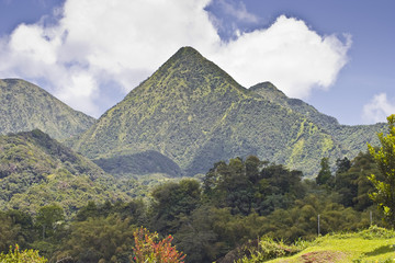 Mountains in Martinique