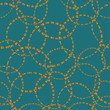 Abstract circles seamless pattern