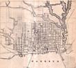 Toronto vintage map