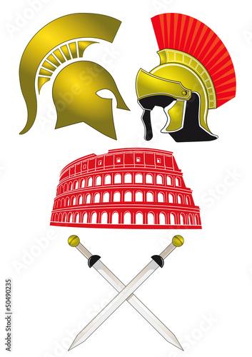 Legionär und Gladiator