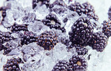 blackberry with ice