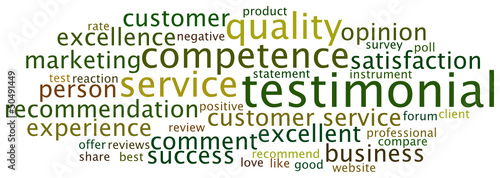 Tag Cloud Testimonial