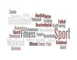 Sport Wortwolke