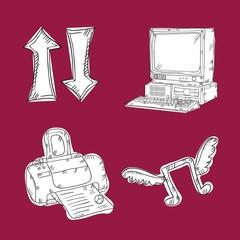Web Icons Hand Draw