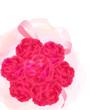 真っ赤なカーネーションの花束