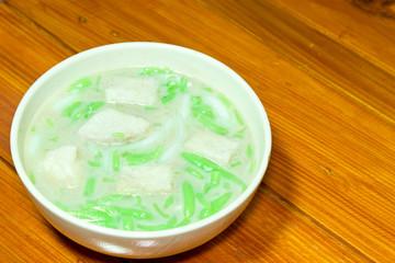 Thai dessert,Lod Chong