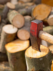 Spalthammer - Holz spalten