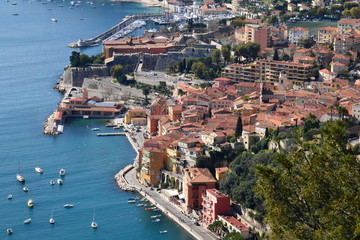 France, côte d'azur, Villefranche sur mer, citadelle
