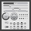 Web White User Interface Set