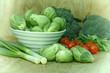 Fresh vegetables - Healthy eating