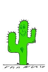 lachender Kaktus...