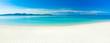 Leinwandbild Motiv Beach panorama