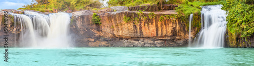 Deurstickers Watervallen Dry Sap waterfall