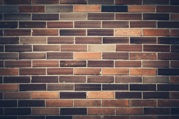 Backround of Dark Brown Brick Wall