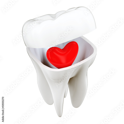 3D Tooth Heart Concept