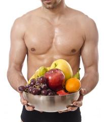 El torso de la salud.
