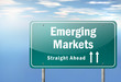 "Highway Signpost ""Emerging Markets"""