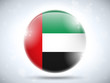 Emirates Flag Glossy Button