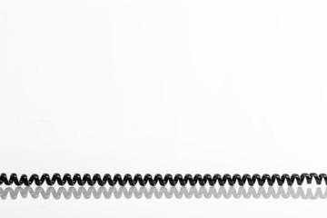 Telefonhoerer Spiralkabel  © Matthias Buehner