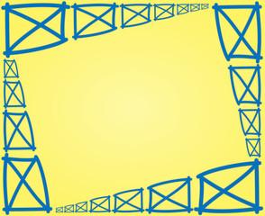 fence parts frame