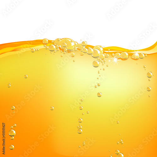 Vector Illustration of Orange Water - 50505627