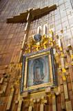 Pintura de la Virgen, Santuario de Guadalupe (México)