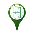 icône, symbole, logo, football