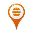 icône, symbole, logo, hamburger