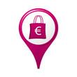 icône, symbole, logo, shopping